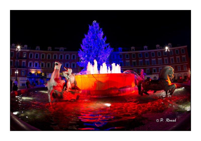 Fontaine Masséna - Nice - 2977