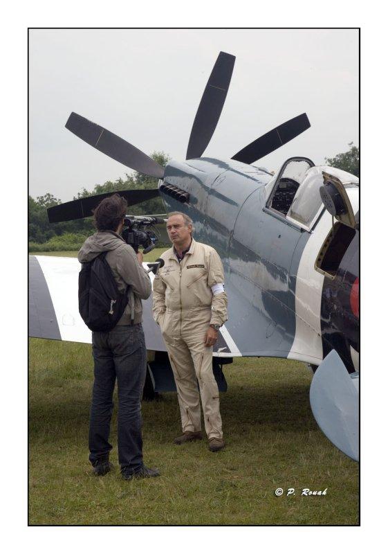 La Ferté Alais 2008 - TV interview - 2124