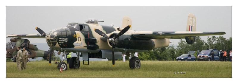 La Ferté Alais 2008 - B-25 - 2127