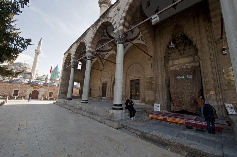 Konya At or near Mevlana Museum 2010 2545.jpg