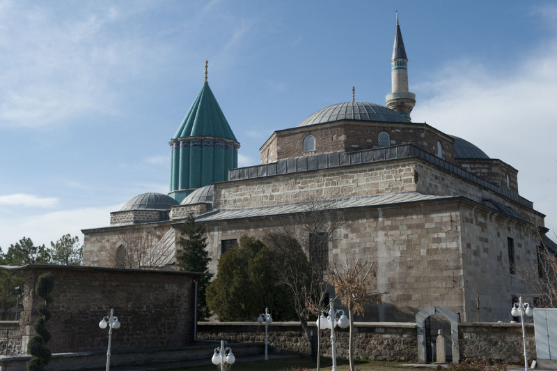 Konya At or near Mevlana Museum 2010 2577.jpg