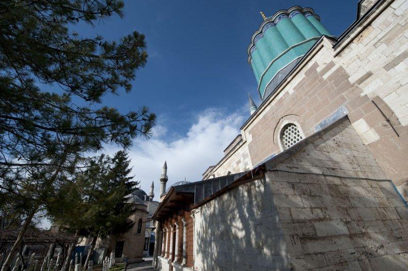 Konya At or near Mevlana Museum 2010 2582.jpg
