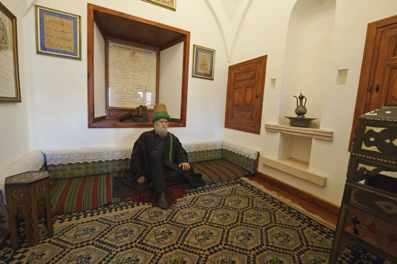 Konya At or near Mevlana Museum 2010 2589.jpg