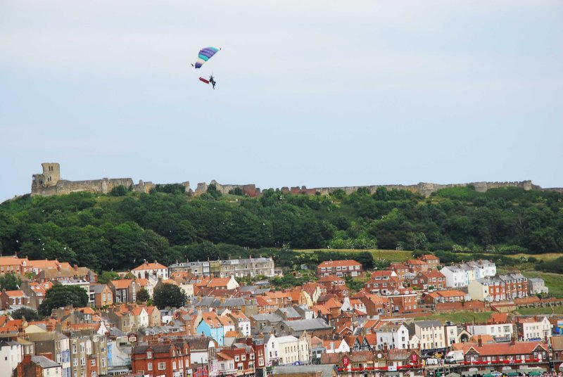 Armed Forces Day in Scarborough Skydivers