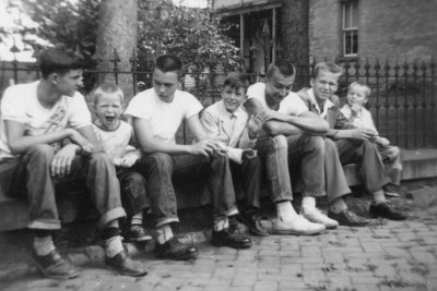 Hangin out,  Bowers (approx. 1954)