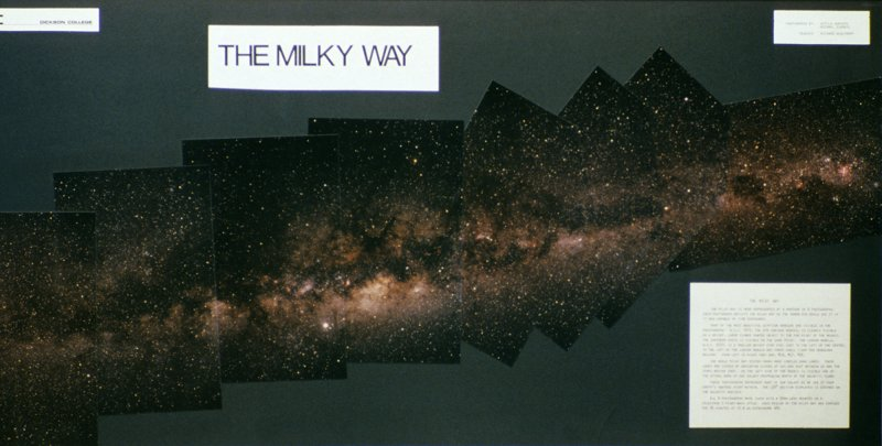 Milky Way mozaic 1984 - large