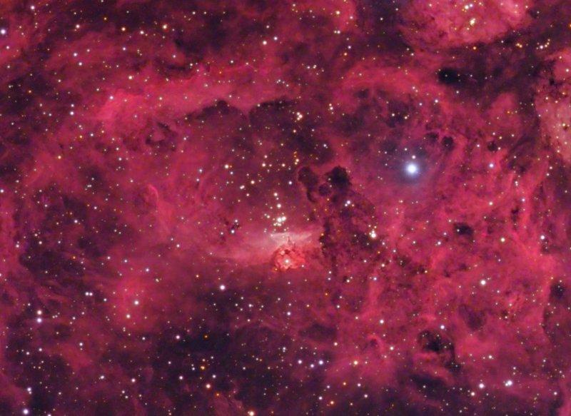 NGC 6357 crop of central nebula (1.0 meg)