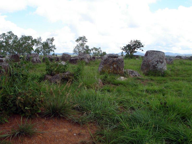 Plain of Jars near Xieng Khoang