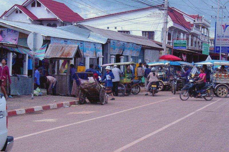 Street Scene Vientiane