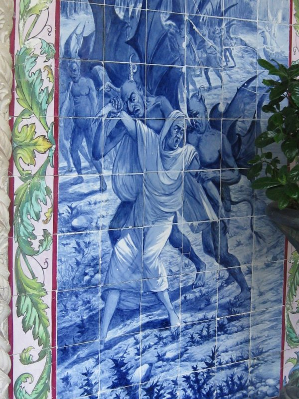 Tiled Panel of Portuguese history