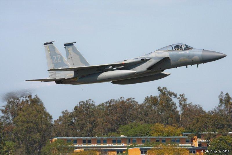 USAF F-15 Eagle - 6 Oct 08