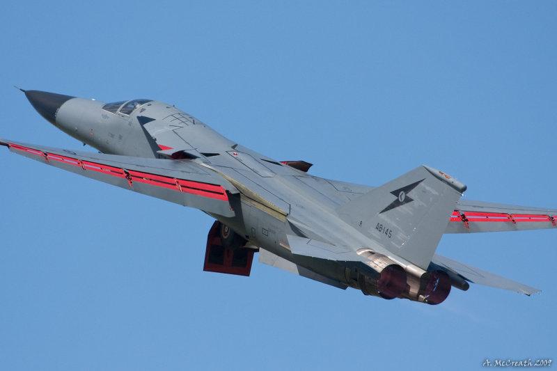 RAAF F-111 26 Sep 08