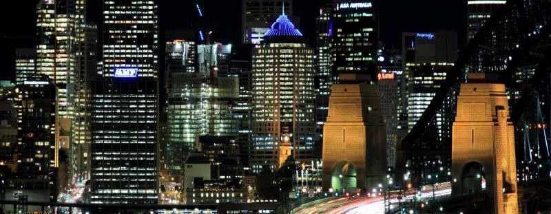 Sydney CBD and Harbour Bridge
