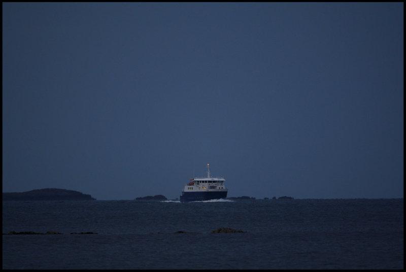 Whalsay ferry - Shetland
