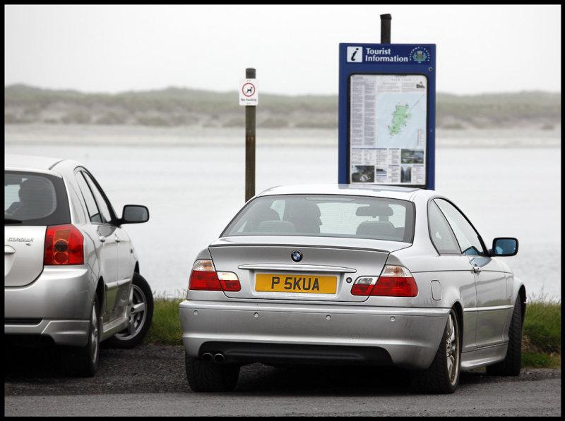 Typical birdwather car !!! (Pomarine Skua)
