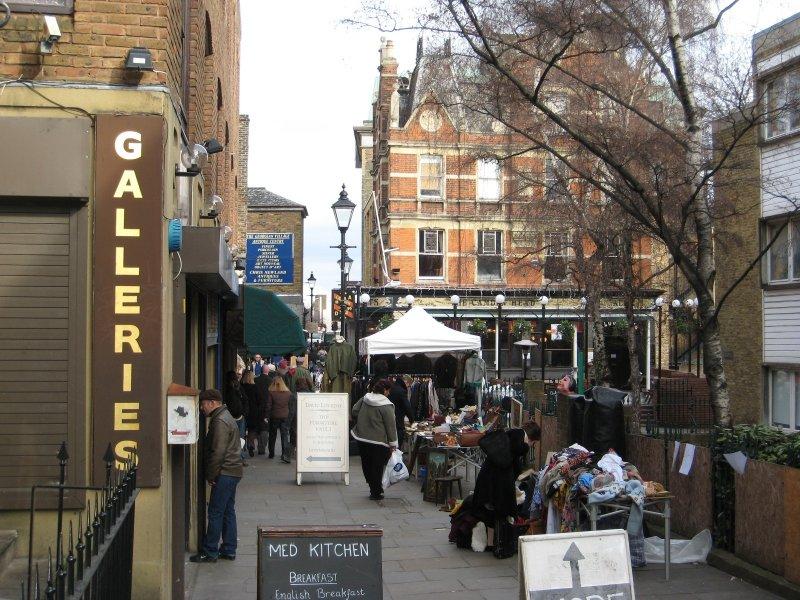 Antique Market at Islington (London)