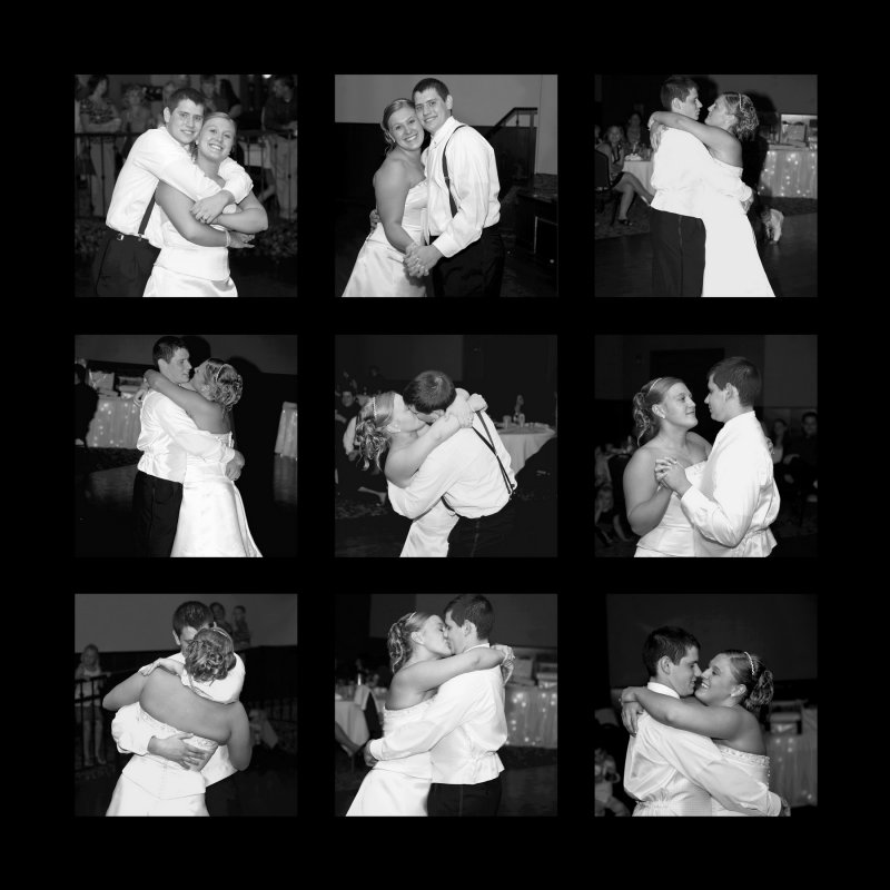 DBA_Storyboard_9Photos_12x12 Dani and Jacob Dancing Black frame_resize.jpg