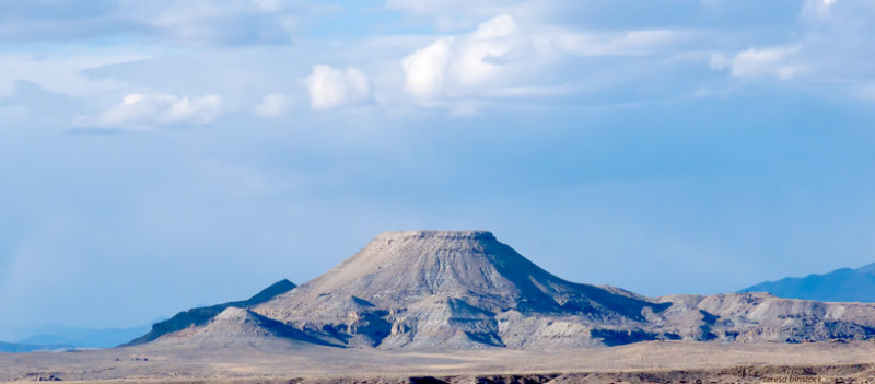 Crowheart Butte - Wind River Reservation - P1080875