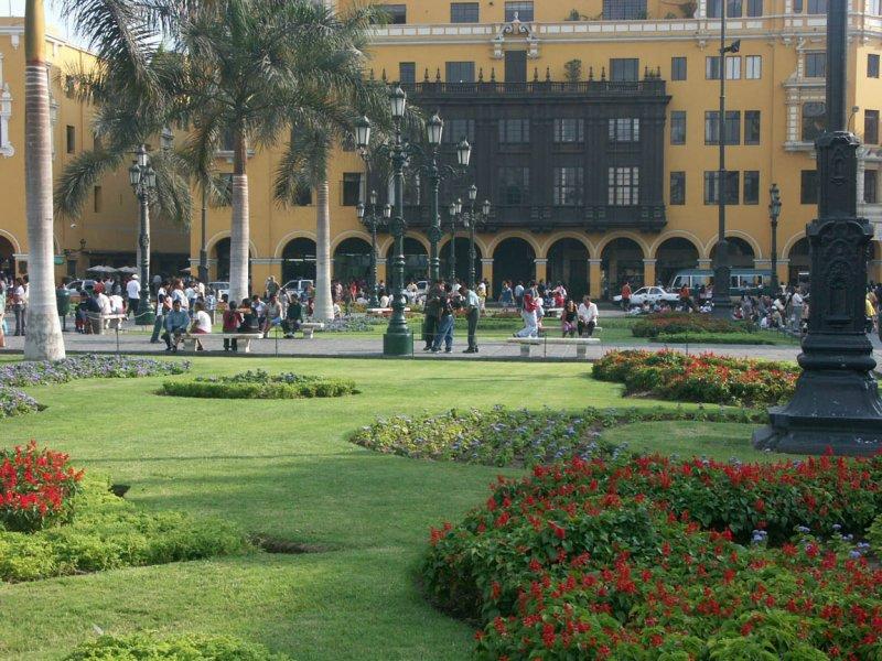 Renovated central square