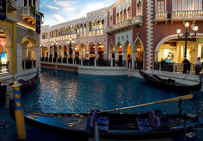 Las Vegas - Inside of the Venetian hotel 2 - dentro al Venetian 2