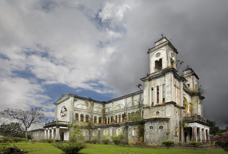 Puriscal Church from L Front