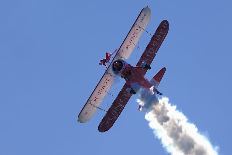 Guinot Display Team, Laxey, June 2009