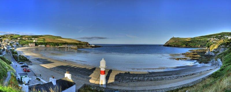 Port Erin Bay at sunrise