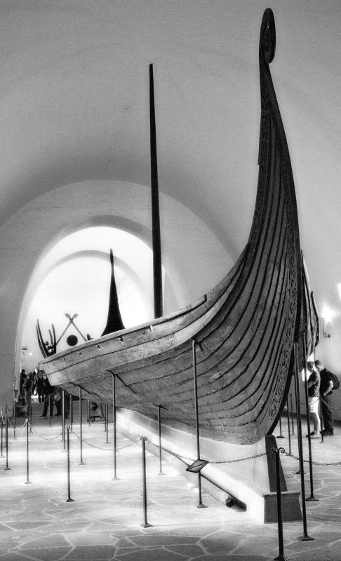 Oseberg - side-view 1
