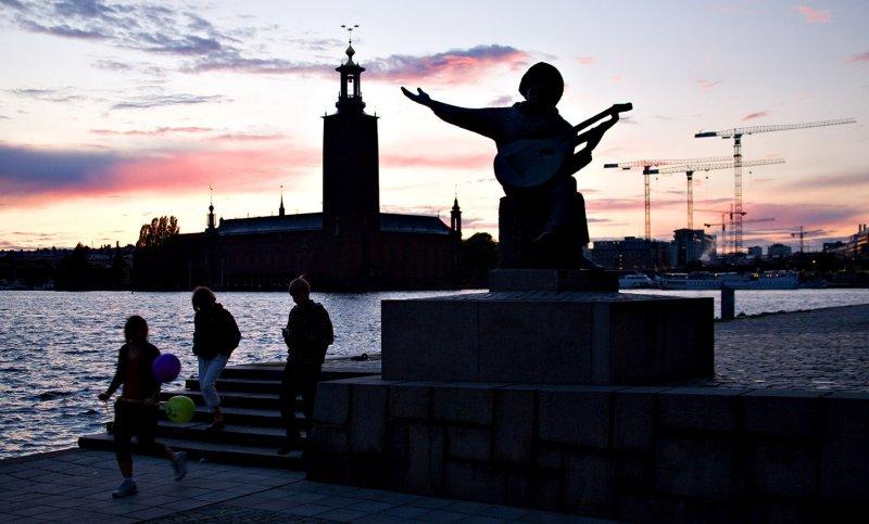 Stockholm Harbour Sunset 3