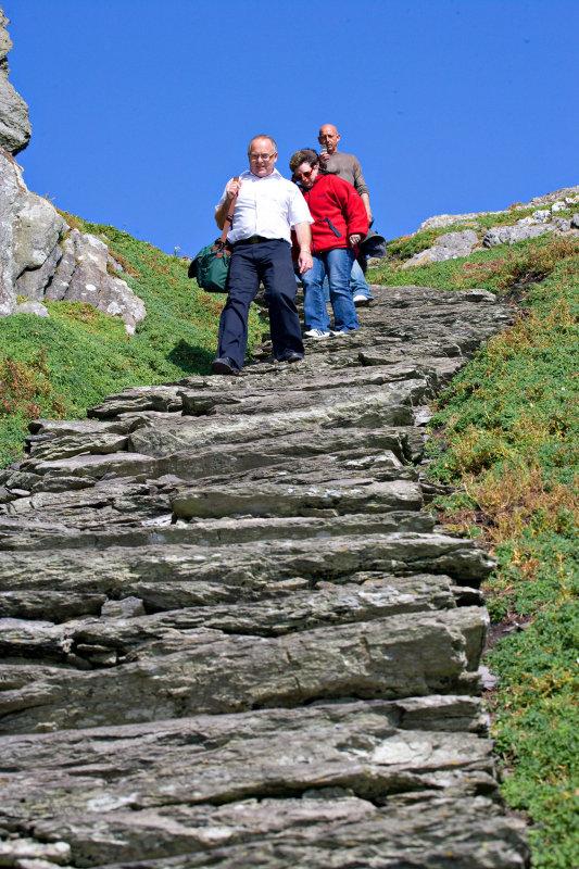 Rocky Stairway