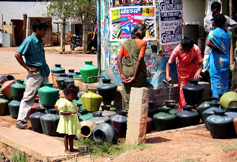 Collecting Water, Bangalore