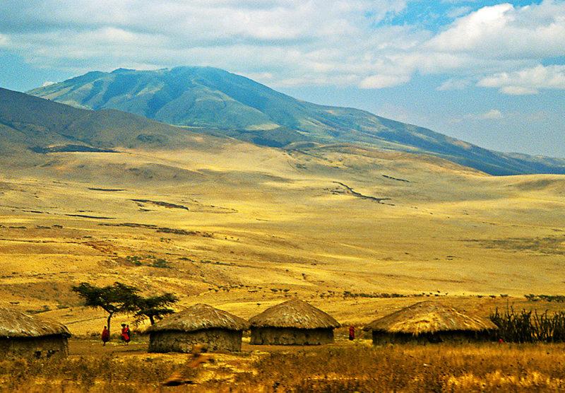 11-Oct-03 ... Maasai Village and Serengeti Plains