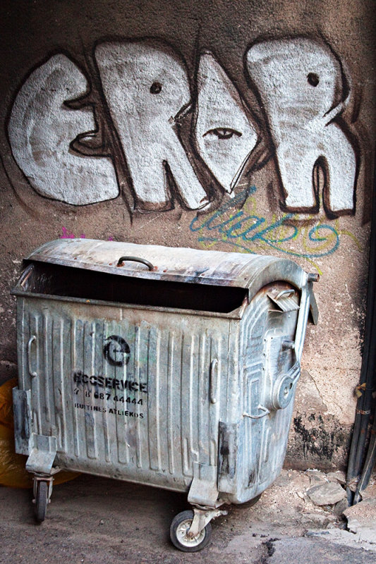 Garbage Graffiti