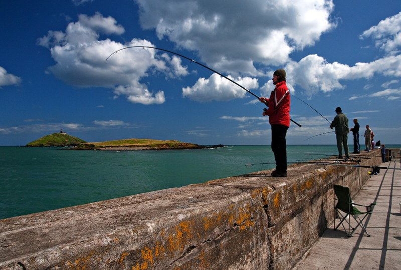Ballycotton Harbour Wall