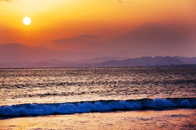 Mount Fuji & Sagami Bay