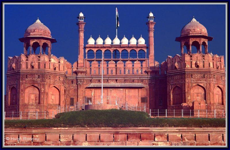 INDIA - DELHI - THE RED FORT IN OLD DELHI