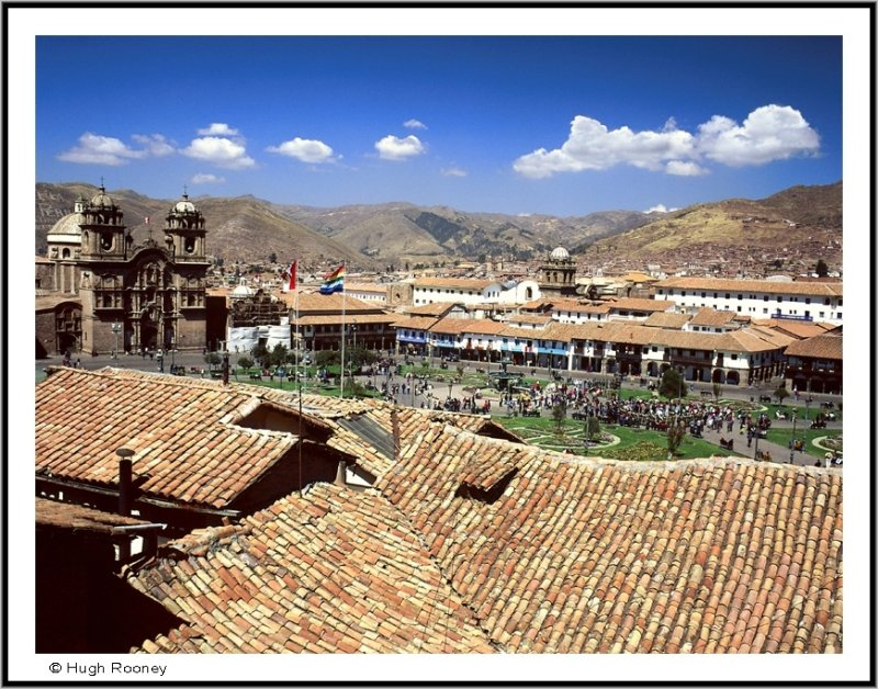 PERU - CUZCO - PLAZA DE ARMAS