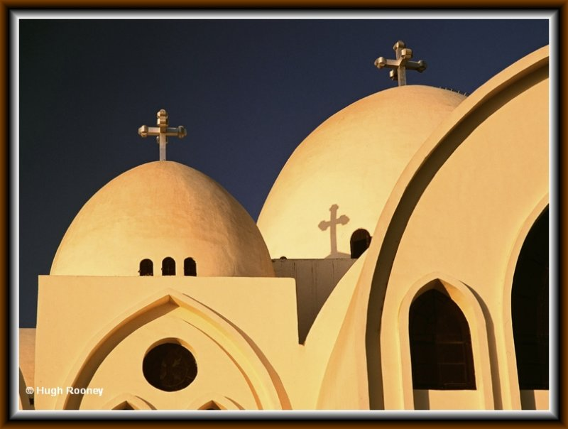EGYPT - ASWAN - COPTIC CATHEDRAL