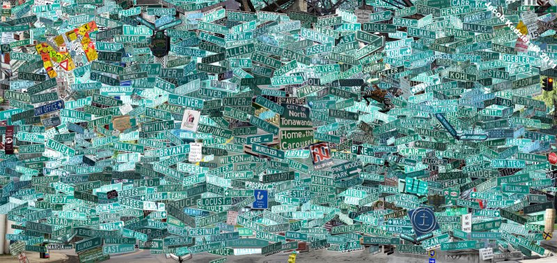 NT Street Sign Collage 2011