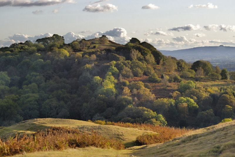 Midsummer Hill in mid-autumn