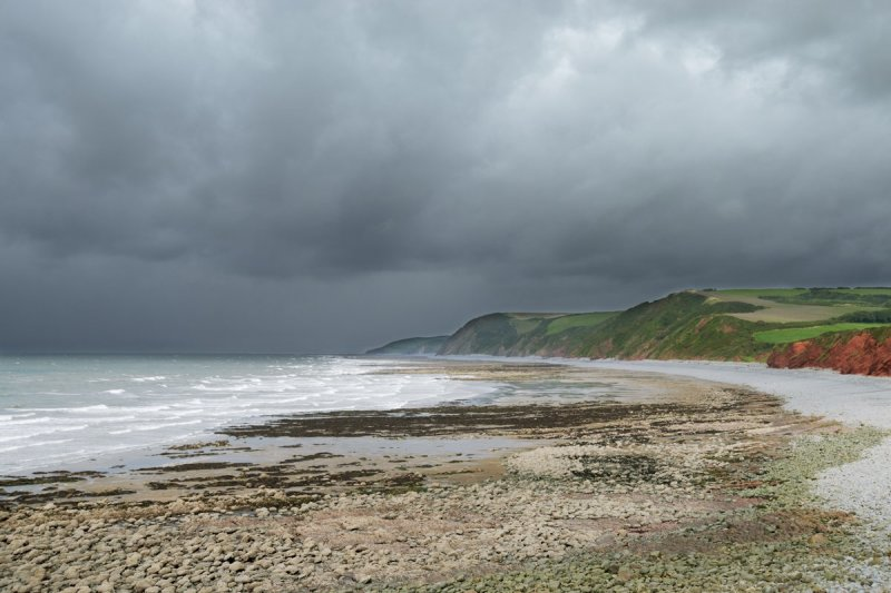 Peppercombe sands