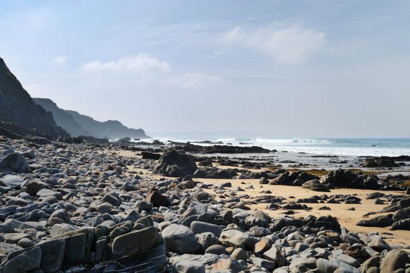 Sandymouth, southwards