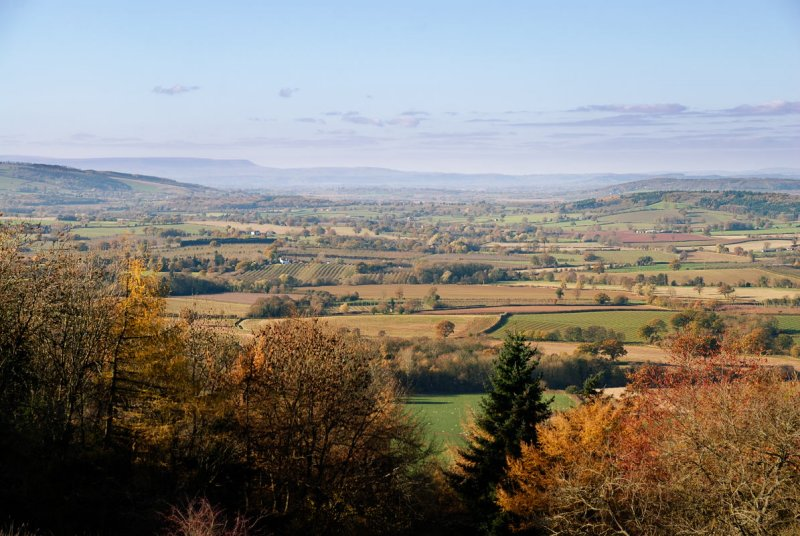 the county from Oyster Hill