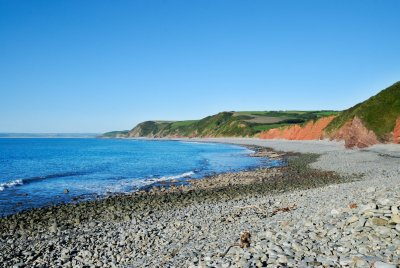 Peppercombe beach