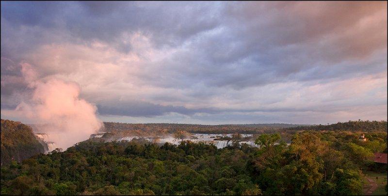 Iguazu Falls Sunset