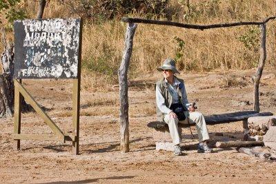 Tendaba Airstrip Waiting Lounge