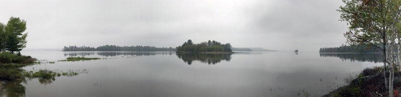 Cloudy Day at Graham Lake