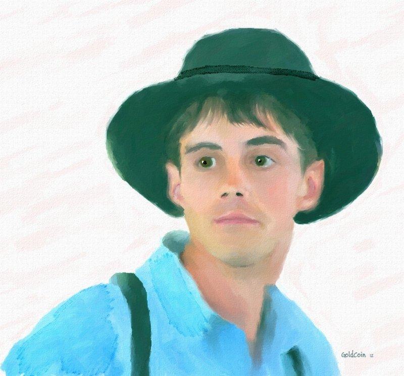 An Amish Young Man