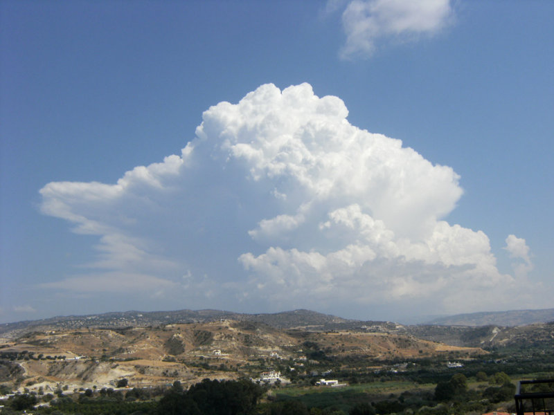 Fabulous Thunderclouds. A sign of an early Autumn..?