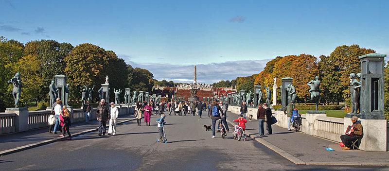 Vigelandsparken: The Vigeland Park